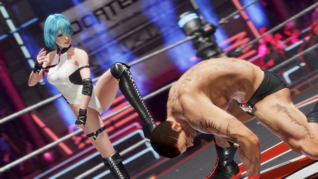 「投擲」是每個格鬥遊戲都會有的設定,但在DOA系列就顯得更有殺傷力。
