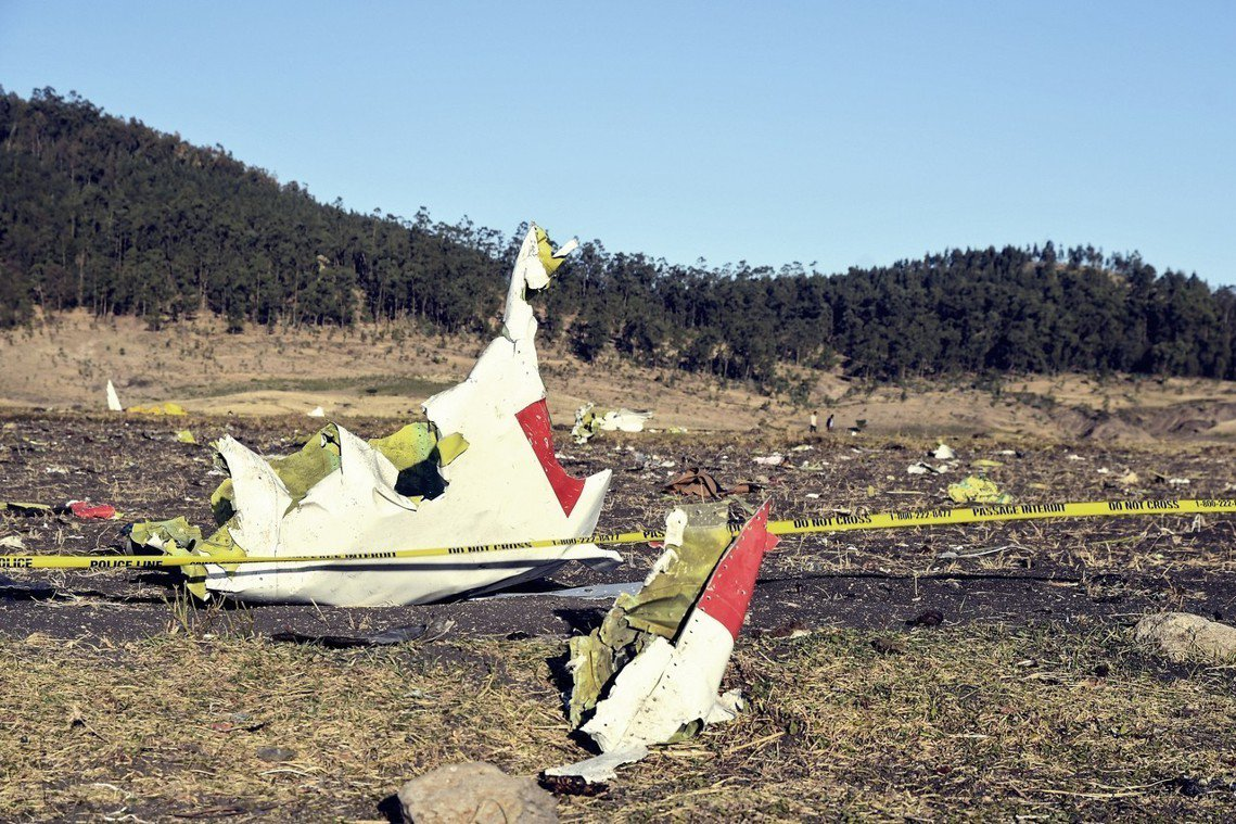 「衣索匹亞航空」(Ethiopian Airlines),10日上午傳出空難事故...