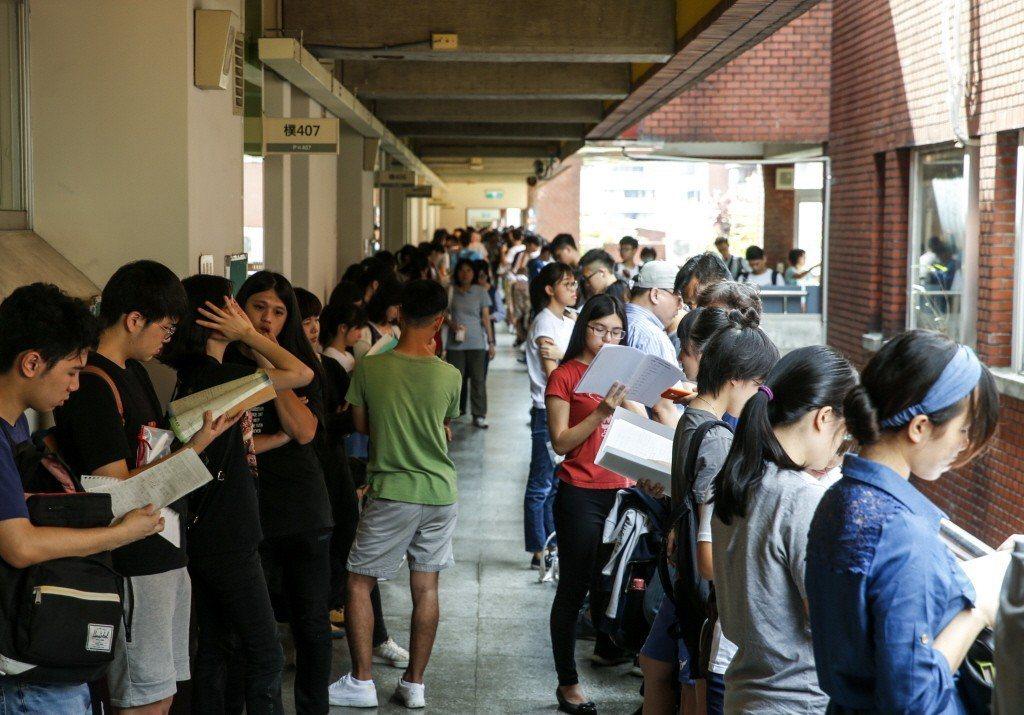 大學科系怎麼選,始終是困擾著學子們的大難題。 圖/聯合報系資料照