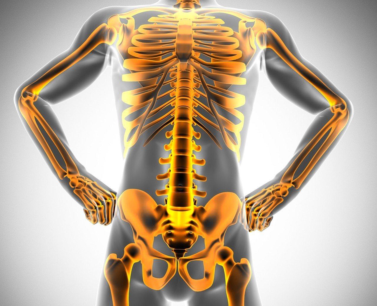 意外吞下的牙籤一路從食道緩慢移動到降結腸,全長將近9公尺,造成腹腔全爛。示意圖,...