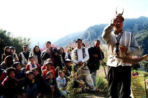 新竹縣尖石鄉司馬庫斯部落的小米播種祭示意圖。圖/報系資料照