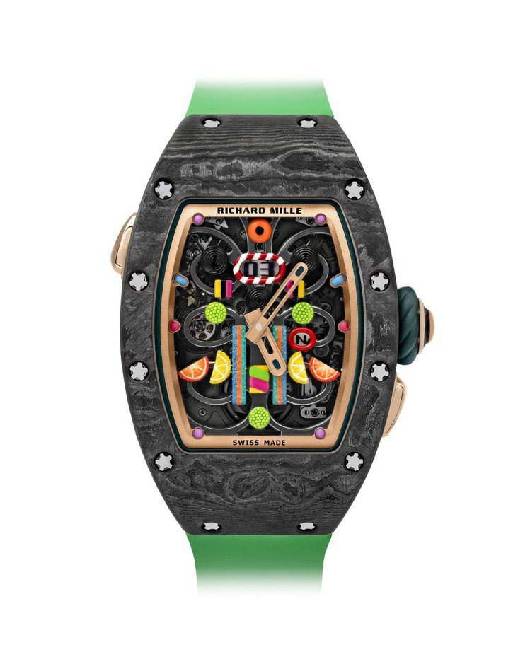 RICHARD MILLE BonBon系列 RM 37-01 Kiwi自動上鍊...