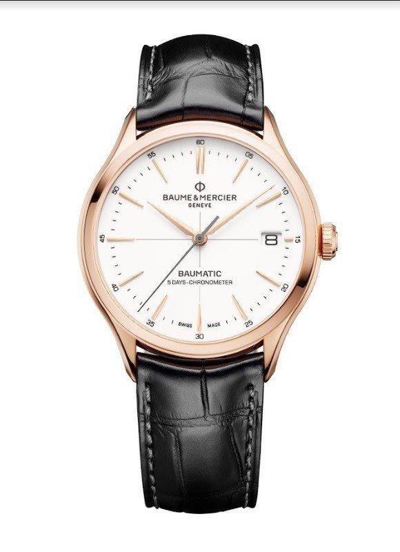 新款的Clifton Baumatic系列腕表,分成經過瑞士官方天文台認證的款式...