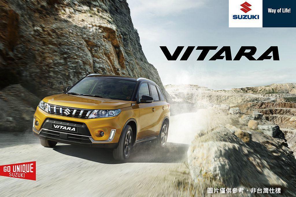 自2016年9月在台上市的SUZUKI VITARA,小改款車型已經在國外市場開...