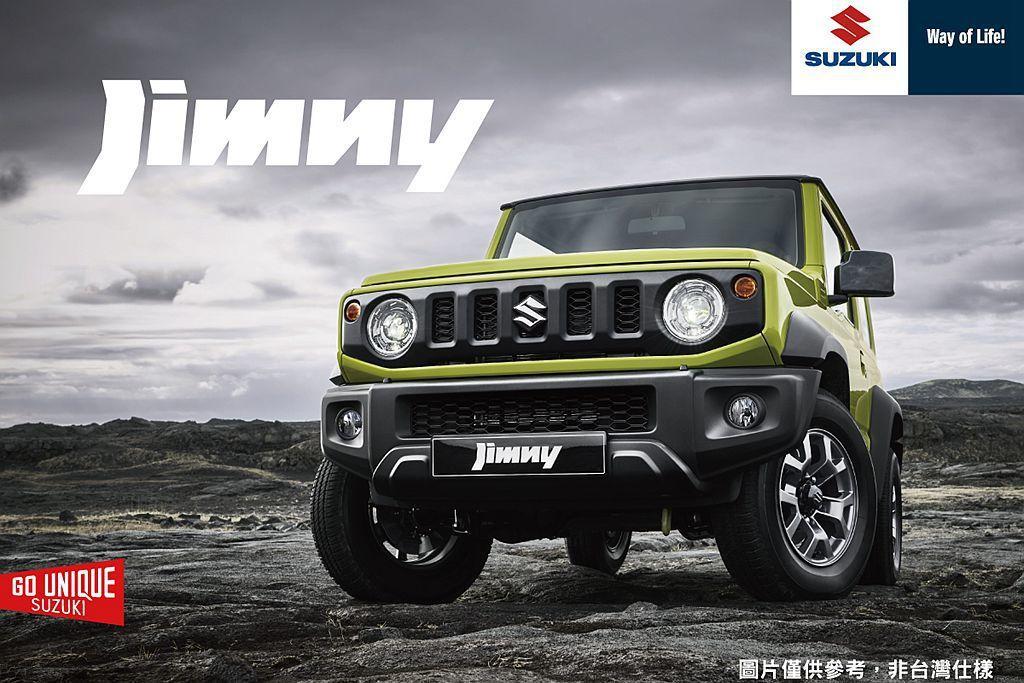 許多人期待已久的大改款全新第四代SUZUKI JIMNY,將於今年第二季導入台灣...