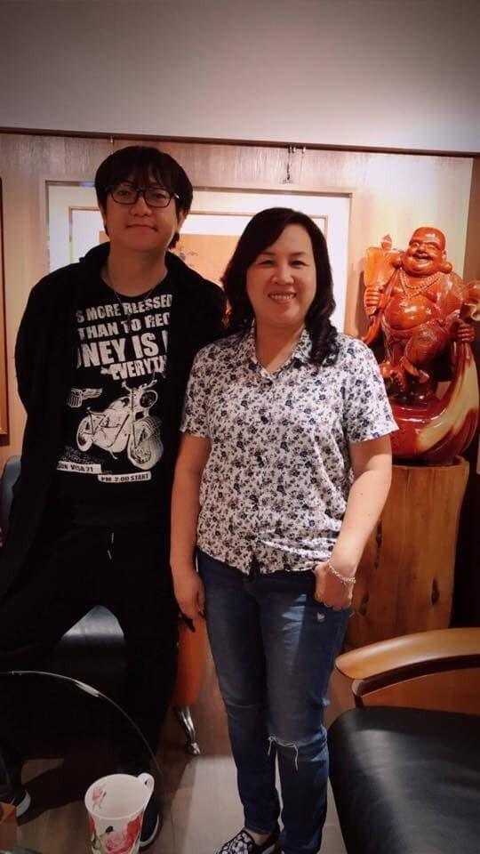 日本311地震發生屆滿八年,日本人中島健一(左)分享八年前在台灣留學時期,班上同...