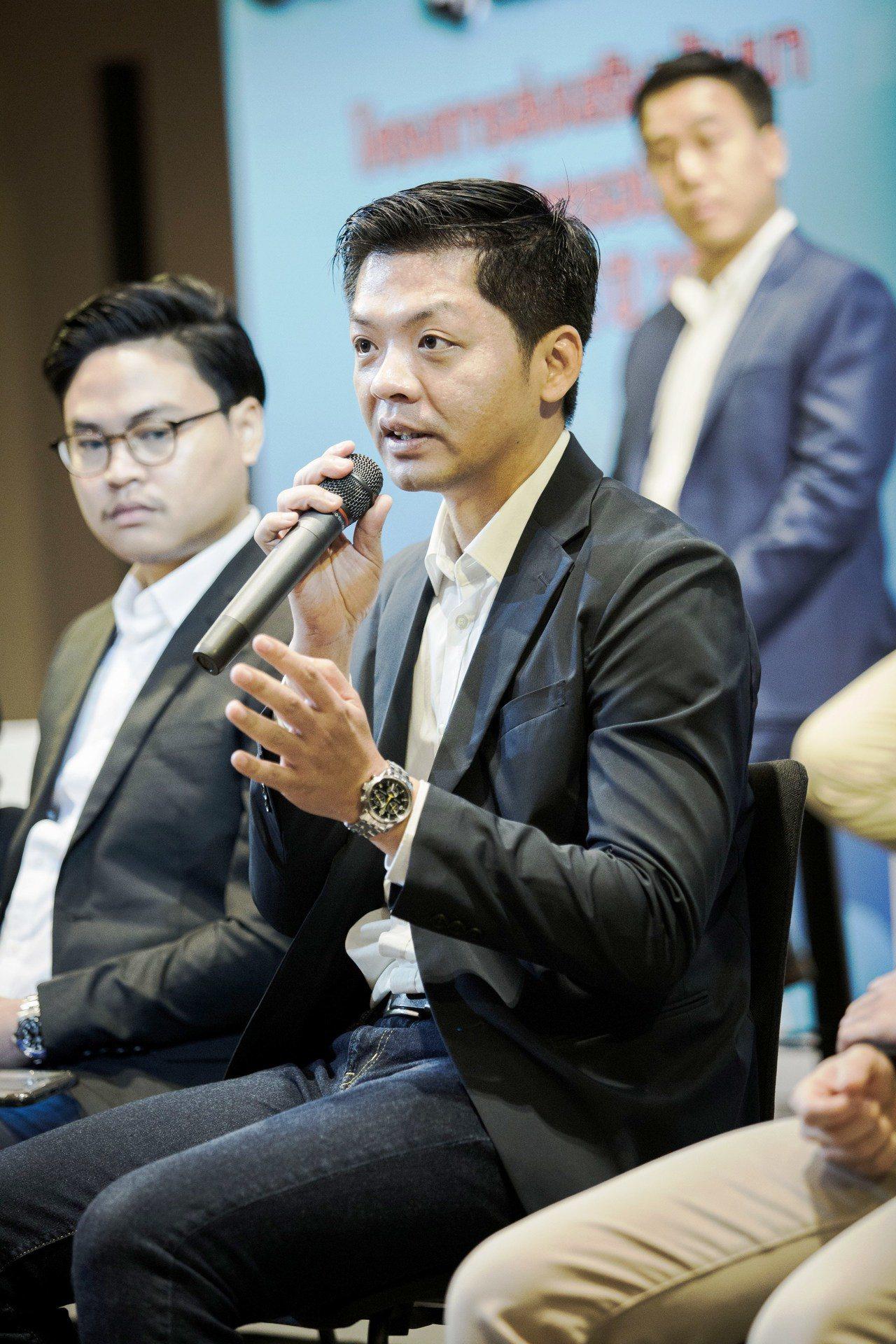 PChome Thai總經理蔡文雄希望盡快將泰國當地企業的特色商品賣進台灣市場,...