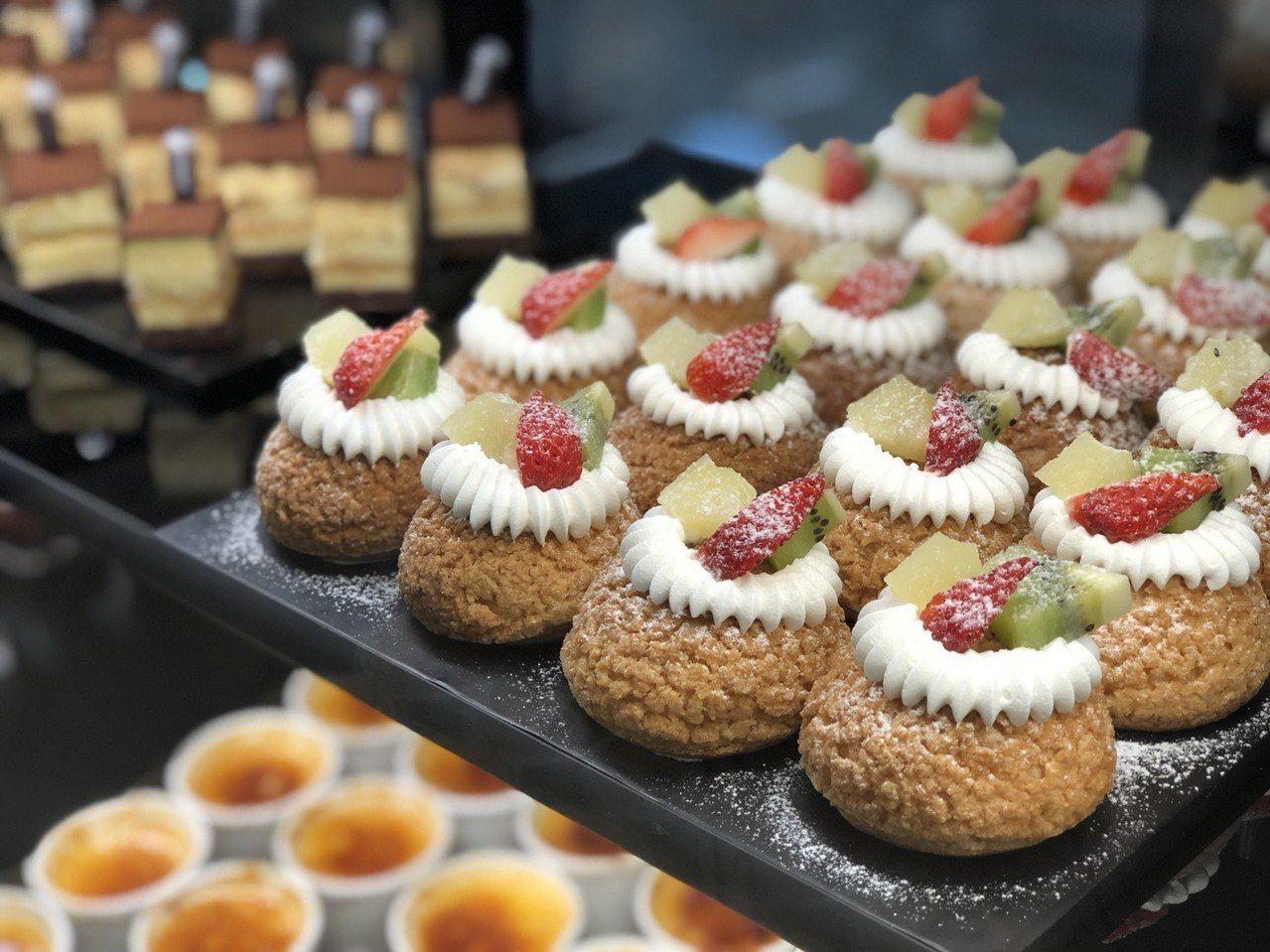 耐斯王子飯店「王子西點坊」擄獲不少甜點控的心。記者王慧瑛/攝影