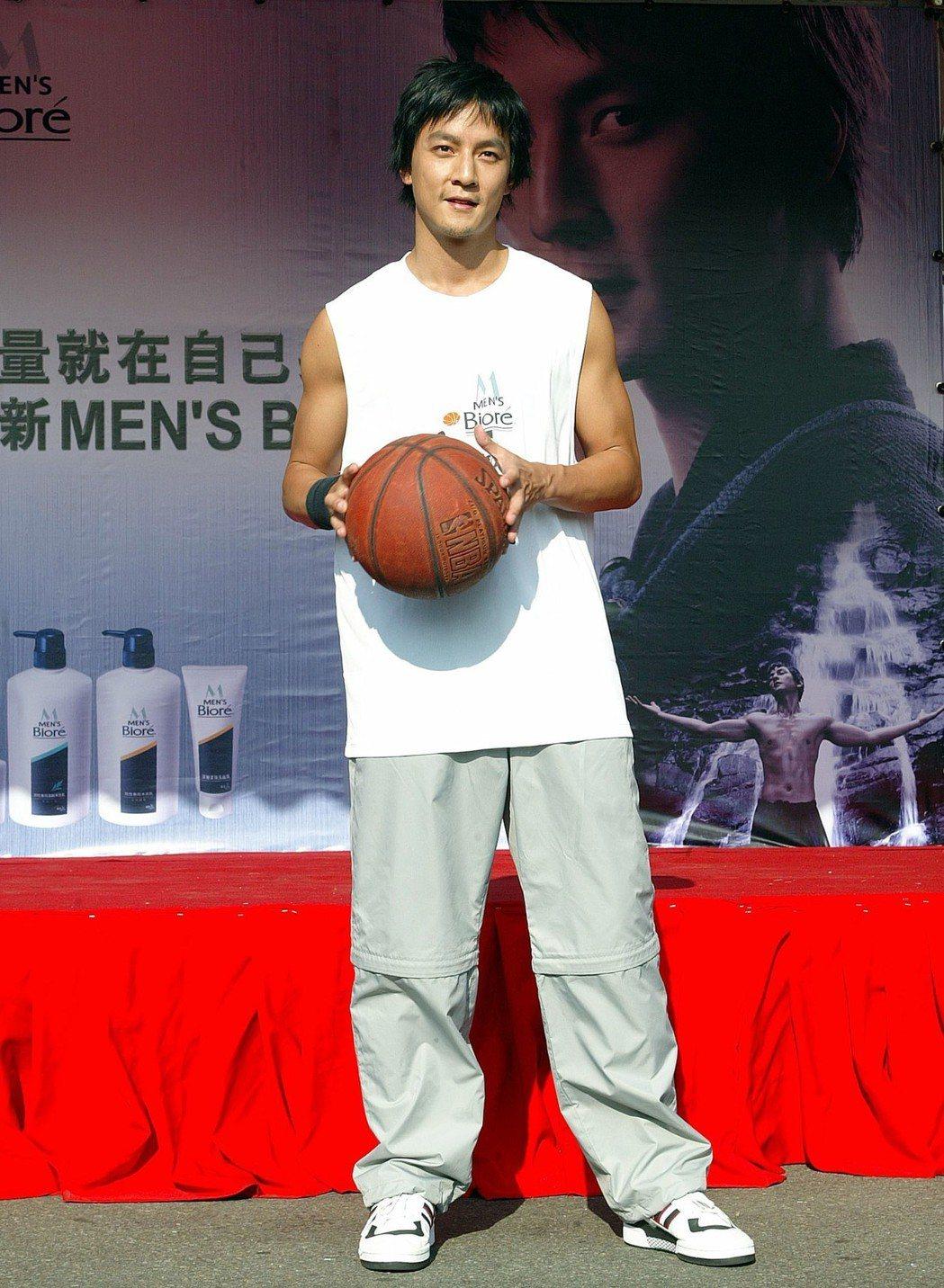 吳彥祖常年保持運動習慣。圖/聯合報系資料照