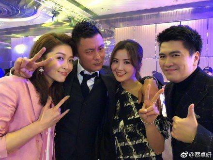 余文樂與蔡卓妍曾合作「下一站⋯天后」。圖/摘自微博