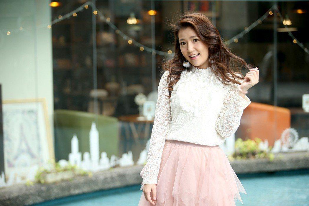 郭亞棠外表甜美,原來很有料。記者余承翰/攝影