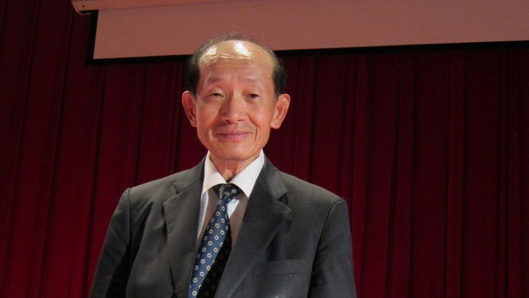 尚志半導體董事長林蔚山。 報系資料照