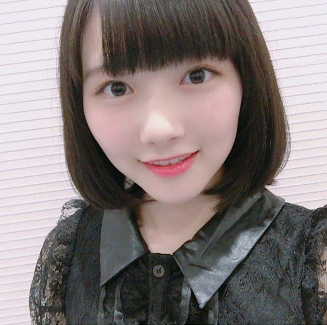 羽切瑠菜從NGT48退團。 圖/擷自推特