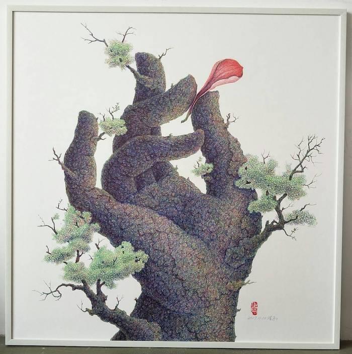樹如人,畫中有話。您會是他畫中的哪一棵呢?歡迎您在謝浩正令人感動的「前樹今生」個...