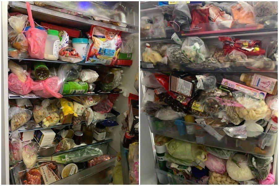 家裡冰箱太亂讓原PO找不到梅酒與牛奶,因此崩潰上網發問。 圖片來源/爆廢公社