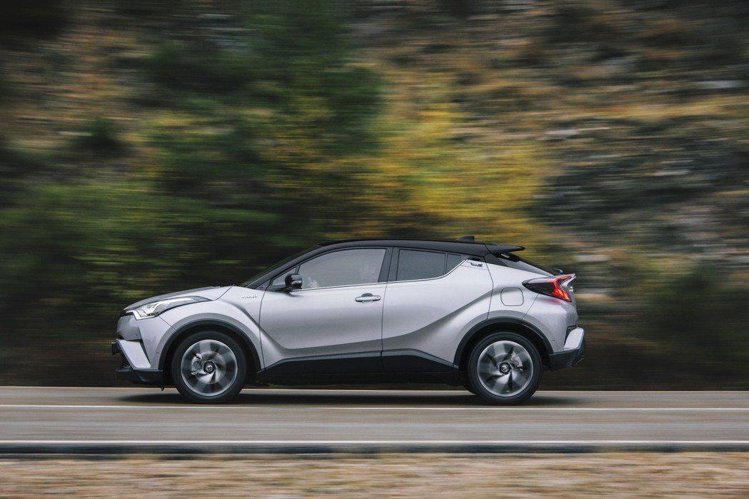 Toyota C-HR。 摘自Toyota