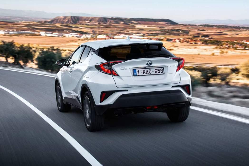 Toyota去年在歐洲賣最好的休旅車就是C-HR。 摘自Toyota