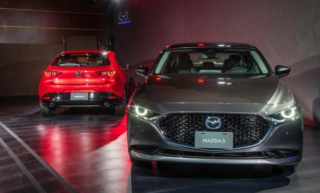 眾所期待的All-New Mazda3首演亮相,預計於四月展開接單並於七月正式上...