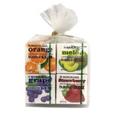 丸川彩球泡泡糖口味多元,其中葡萄口味最受歡迎 圖片來源/LINE購物