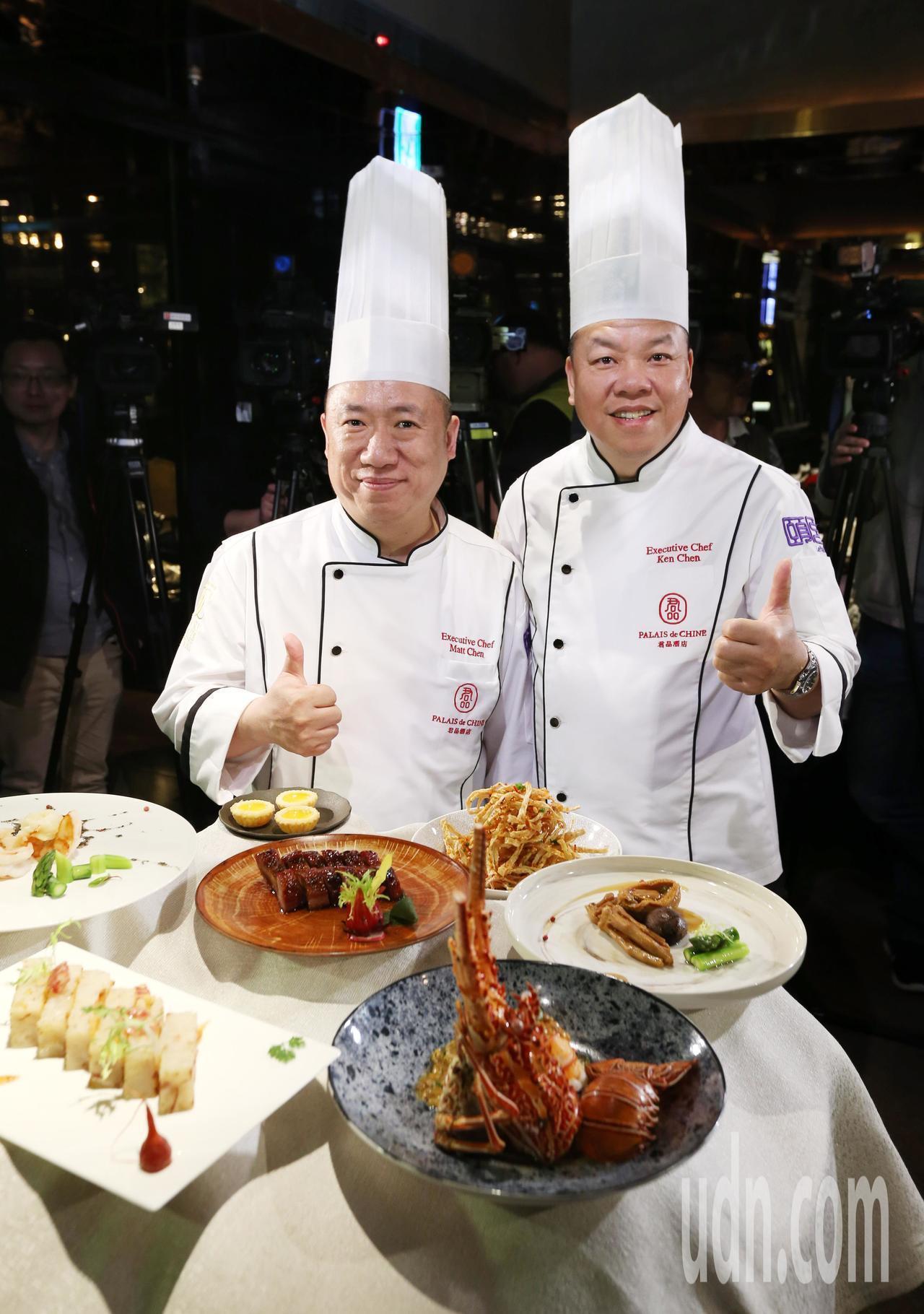 去年奪下《台北米其林指南》三星榮耀的君品酒店頤宮。圖/本報系資料照