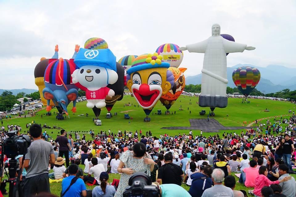 台東的台灣國際熱氣球嘉年華即將在6月29日登場。圖/本報系資料照