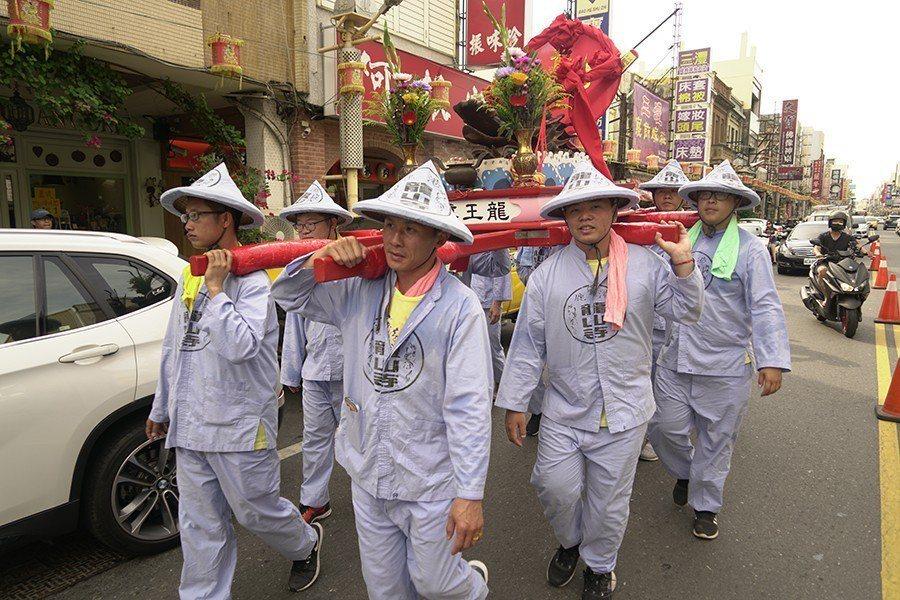 整體龍王祭活動只安排到點睛,由此可見官方節日活動的心態,並沒有將龍王視為儀式核心。 圖/作者自攝
