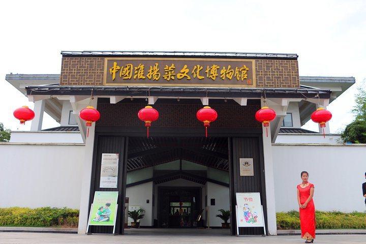 參觀淮揚菜博物館除了大開眼界,還可一飽眼福。