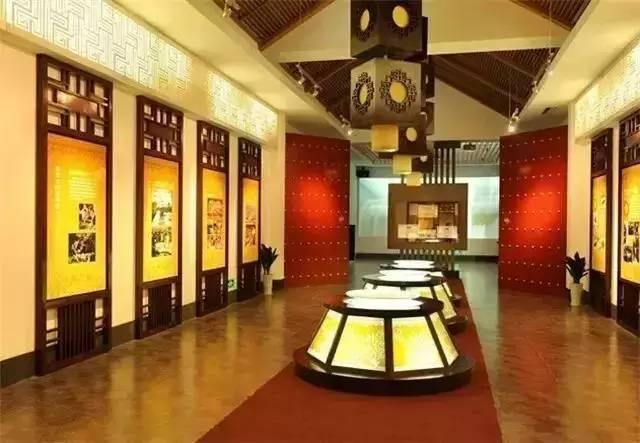 博物館展示的圖片,讓人遙想當年古淮河的榮景。