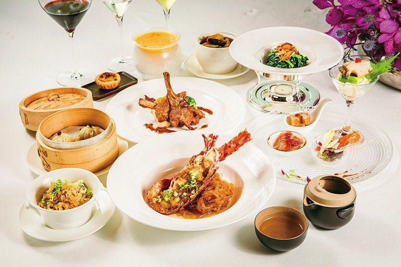 龍蝦套餐2680元/3月新推出的套餐,含7道菜與甜點、茶,7道菜分別為錦繡燒味拼...