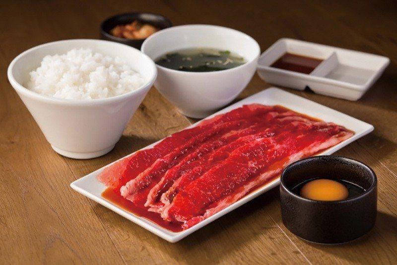 国産牛すき焼きセット (日產牛肉壽喜燒套餐)¥1440/200公克、¥860/1...