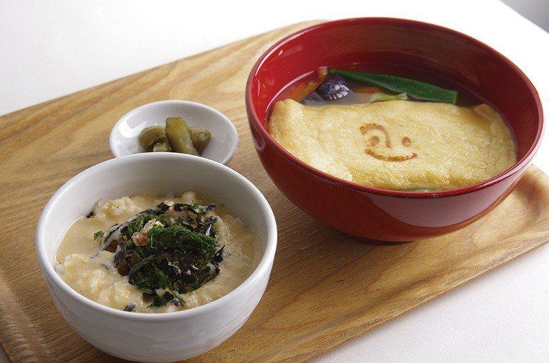 トロロ丼のセット(山藥泥蓋飯套餐)¥1080起 /可從4種不同的味噌湯擇一搭配山...