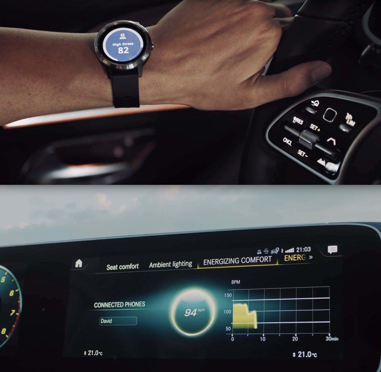Garmin攜手Mercedes Benz推限定版智慧腕表。圖/Garmin提供