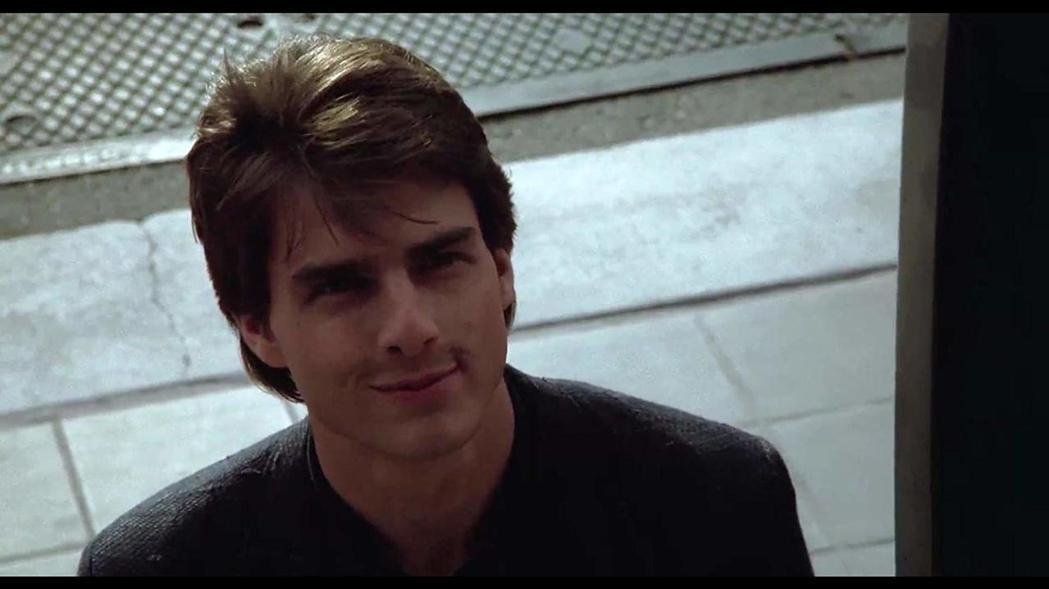 湯姆克魯斯帥氣迷人,但演技實力直到「雨人」後才開始爆發。圖/摘自imdb