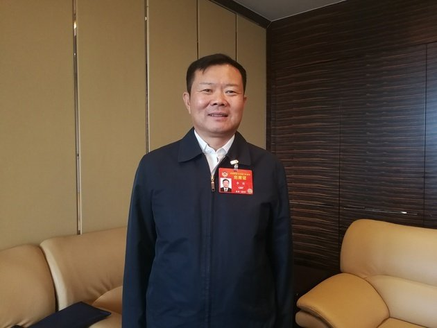 中國民航局副局長李健。大陸搜狐網