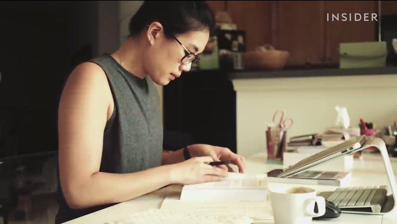 紐約學播頻道「The Strive to Fit」,K書型影片能幫助觀眾專心念書...