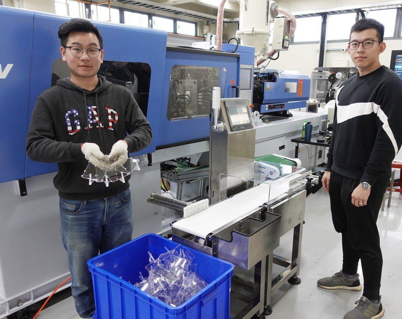 中原大學以原享譽國內外的塑膠模具和射出成型研發成果為主軸,於知行領航館內建構智能...