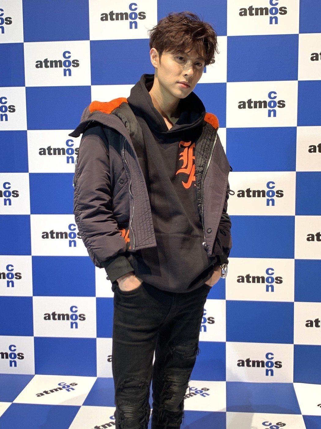 王子日前到日本舉辦活動。圖/華研國際提供