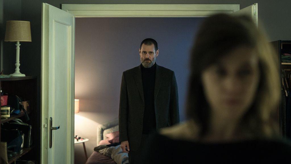 金凱瑞主演的「闇罪無間」3月15日上映。圖/車庫娛樂提供