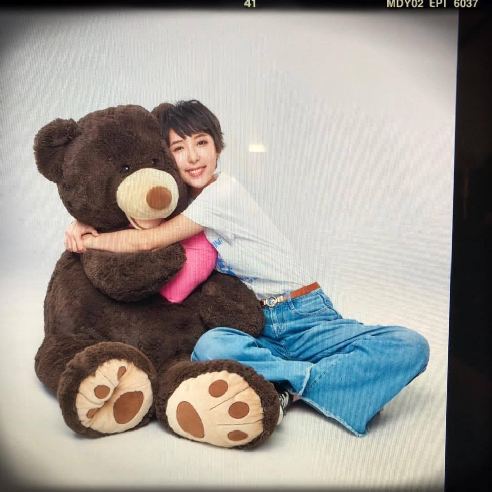 「五熊」蔡頤榛曾與張庭瑚交往1年多,2017年分手。圖/摘自臉書