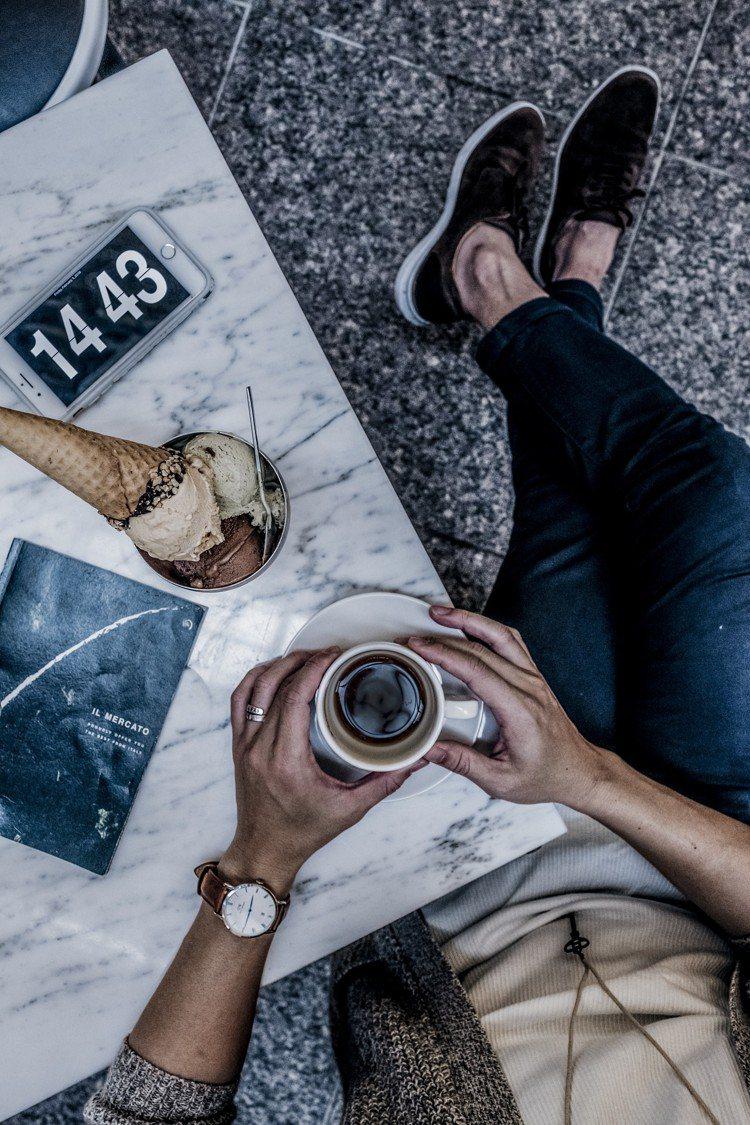 IL MERCATO義瑪卡多的Gelato主廚特製義大利冰淇淋,桌上可放置一些個...
