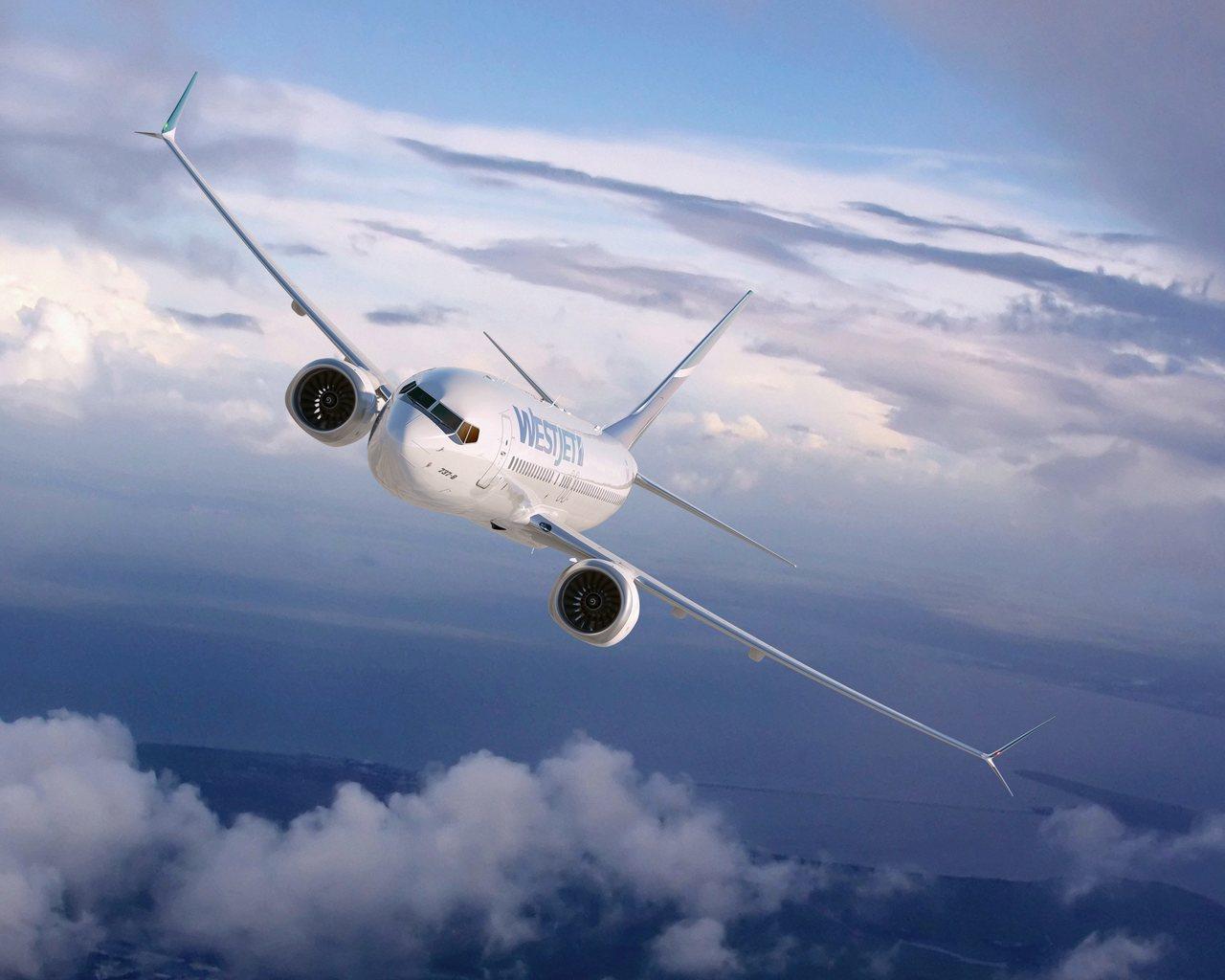 波音737 MAX 8同型機。(美聯社資料照)