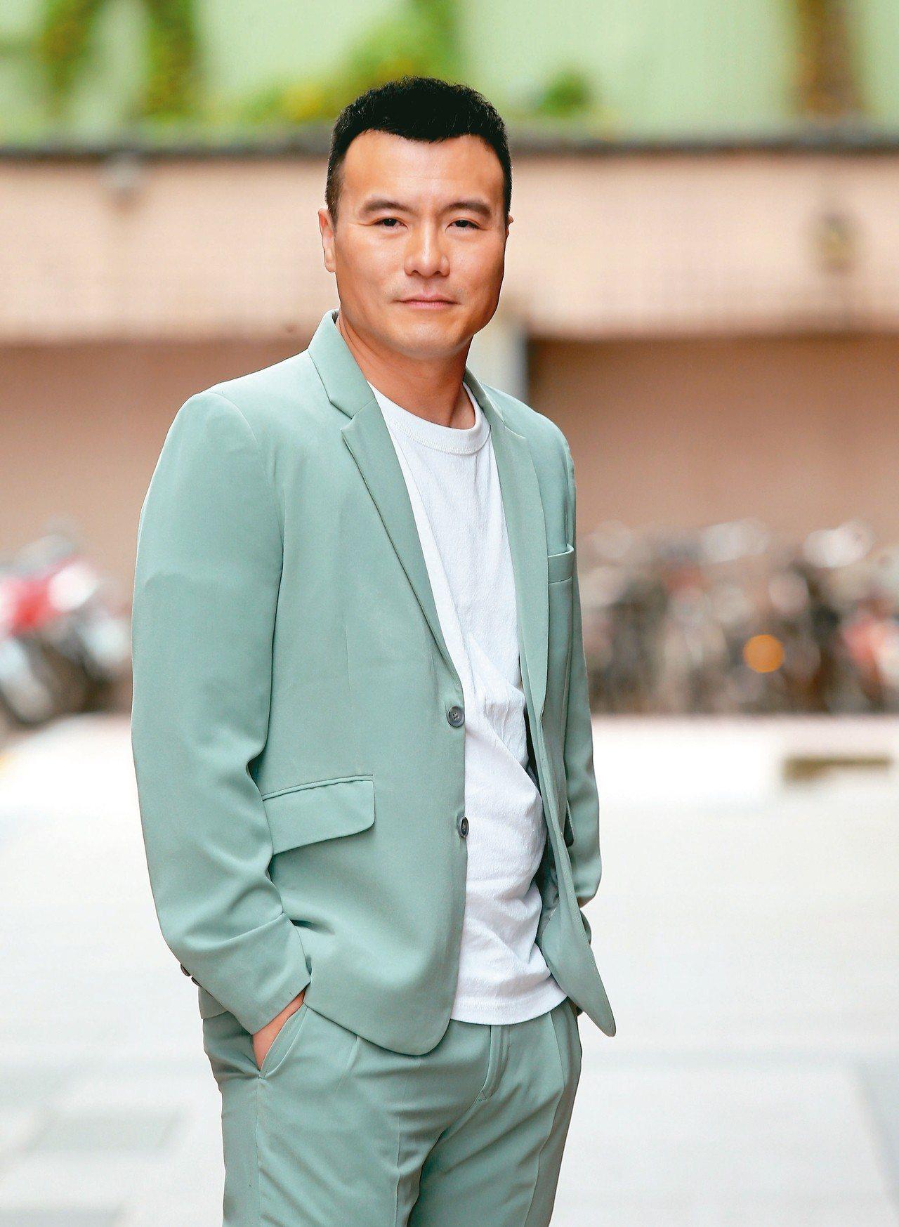 李銘忠曾參與國片「狂徒」的演出 。 記者徐兆玄/攝影