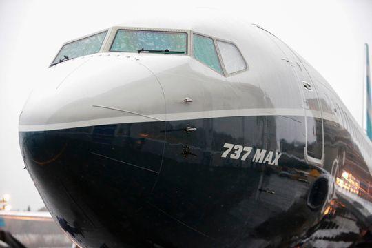737 MAX是波音737家族最新一代客機。(法新社)