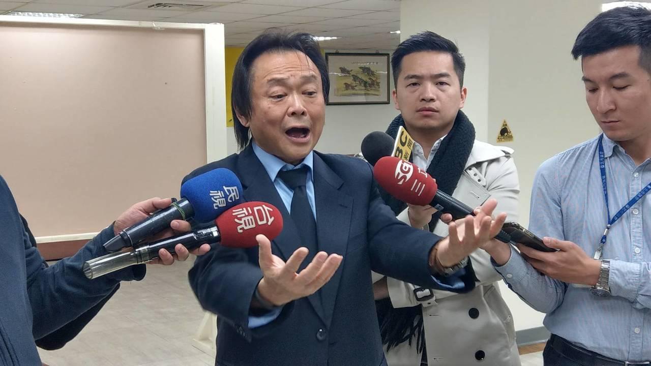 台北市議員王世堅。 報系資料照/記者楊正海攝影