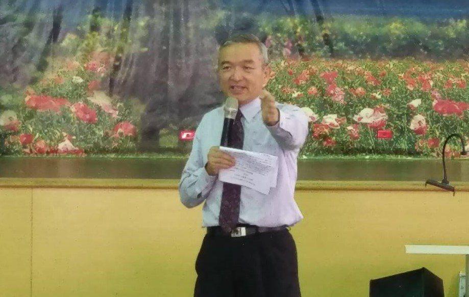 彰化縣花壇國小校長林振茂。 陳渲堉/攝影