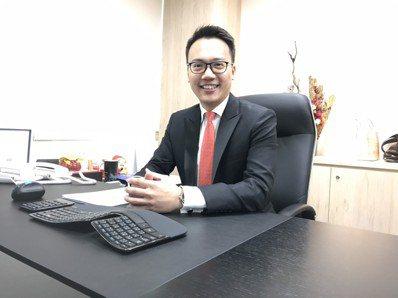 台南開元分公司新任經理黃重傑。 洪紹晏/攝影