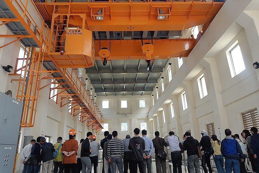 石門電廠參訪。 中興工程基金會/提供