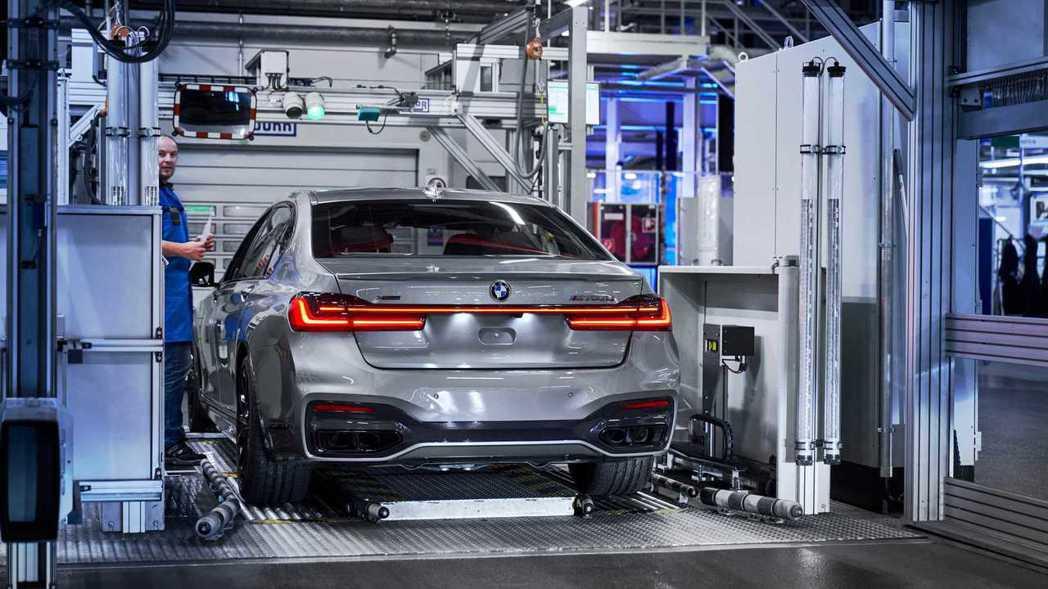 BMW 7 Series LCI日前正式投產。 摘自BMW