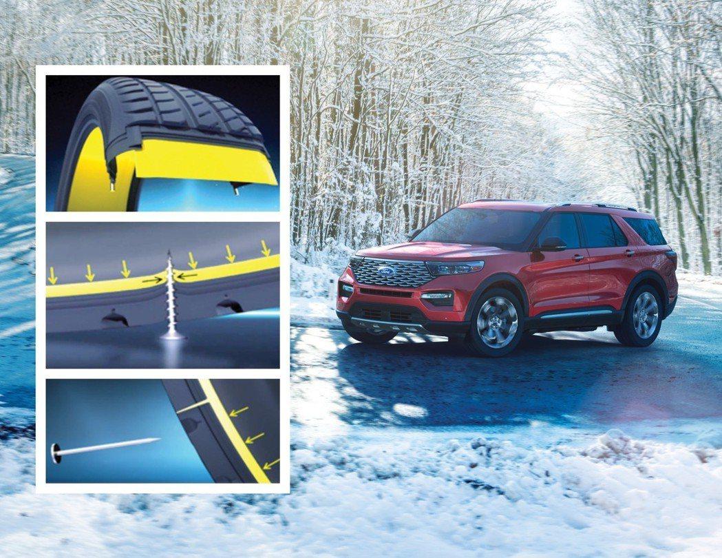 新世代Ford Explorer高階車型標配Michelin SelfSeal自...