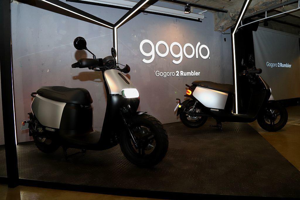 Gogoro 2 Rumbler正式發表,展現不同都會風格。 記者張振群/攝影